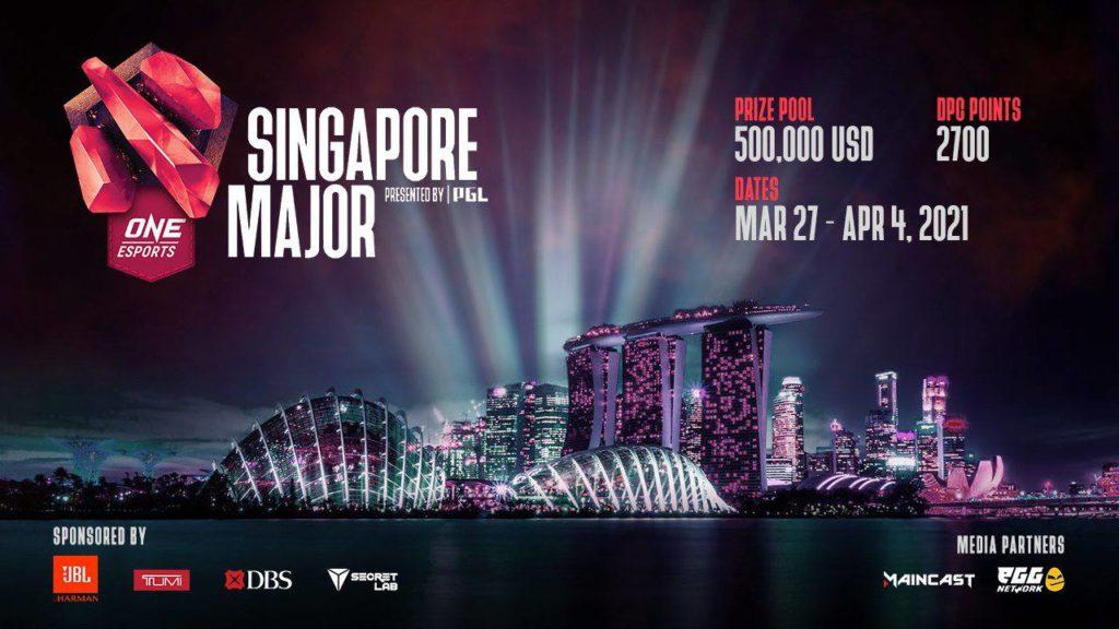 Dota 2 Singapore Major Kicks Things Off in 2021